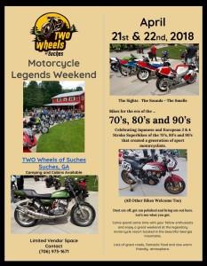 Spring Vintage & 2 Stroke Bike Weekend @ Two Wheels of Suches