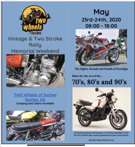 Vintage & Two Stroke Rally @ Two Wheels of Suches